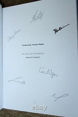 Promising Young Woman Movie Signed Autograph Screenplay Script Fyc For Your