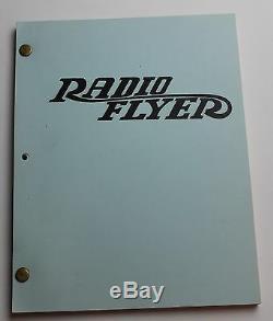 RADIO FLYER 1990 Original Movie Script Screenplay Elijah Wood, Drama Film