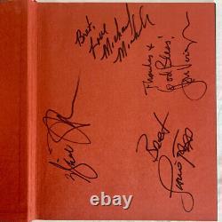 RARE ALI Book Signed by Will Smith, Michael Mann, Jamie Foxx, Jon Voight