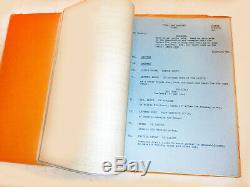 RARE Original 1955 Shooting Script of THE LONE RANGER (feature film) withC. Moore