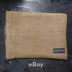 RARE Promo Memorabilia BURLAP BAG Book Numbered 9 NINE Movie Tim Burton Film