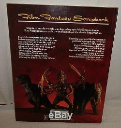 RAY HARRYHAUSEN Signed/Autograph Soft Bound Book FILM FANTASY SCRAPBOOK 1989