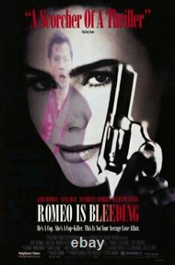 ROMEO IS BLEEDING / Hilary Henkin 1990 Movie Script Screenplay, early WGA Draft