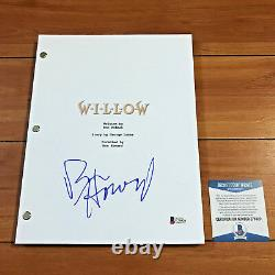 RON HOWARD SIGNED WILLOW FULL 96 PAGE MOVIE SCRIPT SCREENPLAY with BECKETT COA