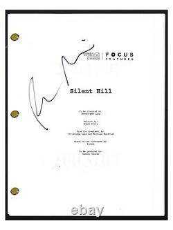 Radha Mitchell Signed Autographed SILENT HILL Movie Script Screenplay COA