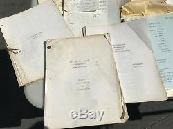 Rare One Day At A Time Original Movie Scripts With Original Production Papers