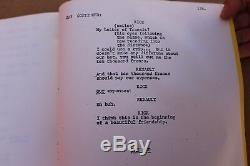 Rare Vintage 1942 Casablanca Original Movie Script Screenplay University Issue