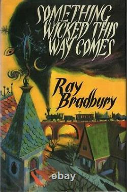 Ray Bradbury Something Wicked This Way Comes Signed, Ltd HC Film Script