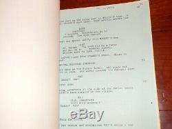 Re-Animator Authentic Early Draft Movie Script Stuart Gordon H. P. Lovecraft