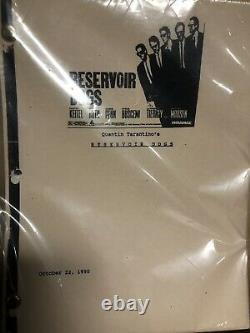 Reservoir Dogs Movie Script Quentin Tarantino