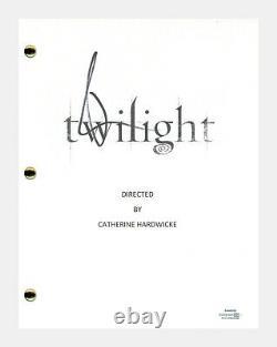 Robert Pattinson Signed Autographed Twilight Movie Script Screenplay ACOA COA