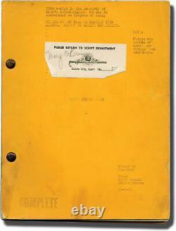Roy Rowland TENTH AVENUE ANGEL Original screenplay for the 1948 film #140087