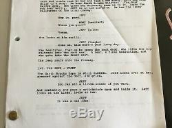SHOWGIRLS Movie Script 1994 Owned & Used By Cast Star ELIZABETH BERKLEY