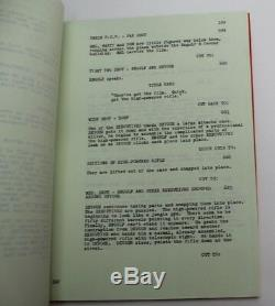 SILENT MOVIE / Mel Brooks 1975 Movie Script Screenplay, Marty Feldman Comedy