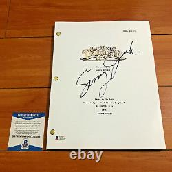 SISSY SPACEK SIGNED COAL MINER'S DAUGHTER FULL PAGE MOVIE SCRIPT with BECKETT COA
