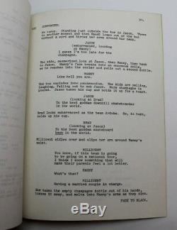 SKATEBOARD / Dick Wolf 1977 Movie Script, Tony Alva rare Zephyr Z-Boys Cult Film