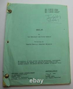 SPACE JAM / Leo Benvenuti 1995 Movie Script, MICHAEL JORDAN film pre Kobe Bryant