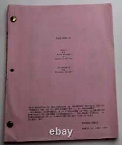 STAR TREK INSURRECTION / Michael Piller 1998 Movie Script, Patrick Stewart