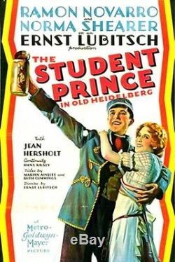 STUDENT PRINCE IN OLD HEIDELBERG / 1926 Screenplay, Ernst Lubitsch Silent Film