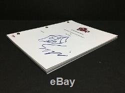 Sam Raimi Signed'The Evil DeadBook of The Dead' Full Movie Script PSA AE94311
