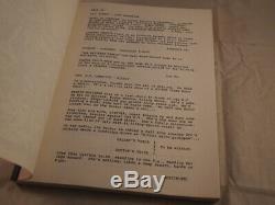 Sassy 1988 First Draft Unproduced Movie Script Terry Zwigoff Robert Crumb Rare