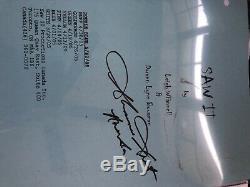 Saw movie script lot 2-5 autographed original coa