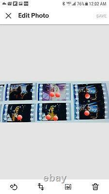 Showgirls Screening Card Elizabeth Berkley Nude Film Cels Promo Book Mark & Art+