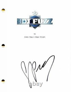 Simon Pegg Signed Autograph Hot Fuzz Full Movie Script Star Wars, Doctor Who