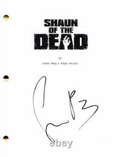 Simon Pegg Signed Autograph Shaun Of The Dead Movie Script Star Wars