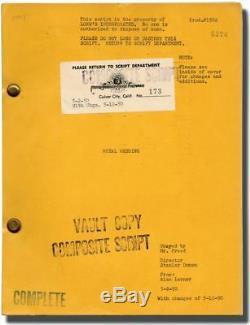 Stanley Donen ROYAL WEDDING Original screenplay for the 1951 film 1950 #128821