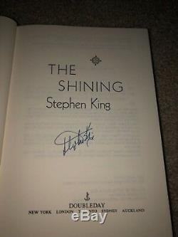Stephen King Signed The Shining Hardcover Book Author Movie Jack Nicholson Jsa