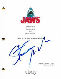 Steven Spielberg Signed Autograph Jaws Full Movie Script Roy Scheider