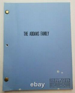 THE ADDAMS FAMILY / Larry Wilson 1990 Screenplay, CHRISTOPHER LLOYD Fantasy film