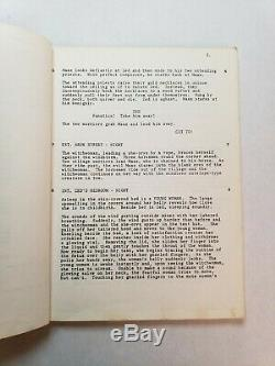THE BEASTMASTER / Don Coscarelli 1980 Screenplay, sword & sorcery fantasy film