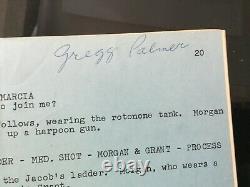 THE CREATURE WALKS AMONG US 1955 Universal Horror Film Screenplay Movie Script