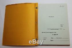 THE EXORCIST / William Peter Blatty 1972 Movie Script Screenplay, Horror Film