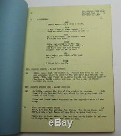 THE HARDER THEY FALL / Philip Yordan 1955 Film Noir Movie Script Screenplay