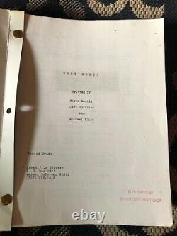 THE JERK STEVE MARTIN FILM SCRIPT 3 EARLY DRAFTS Carl Reiner Bernadette Peters