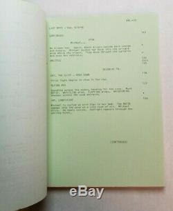 THE LOST BOYS / Jeffrey Boam 1986 Screenplay, cult film haven for vampires