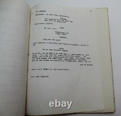 THE MONSTER SQUAD / Fred Dekker 1986 Movie Script Count Dracula and his monsters