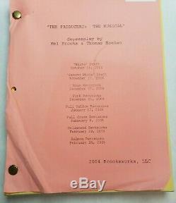THE PRODUCERS / Mel Brooks 2005 Screenplay, Musical Film Starring UMA THURMAN