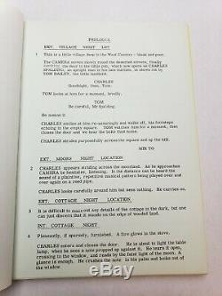 THE REPTILE / John Elder 1965 Screenplay, Noel Willman horror film, HAMMER FILMS