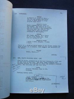 THE RESURRECTION OF ZACHARY WHEELER Original Film Script BRADFORD DILLMAN'S Copy