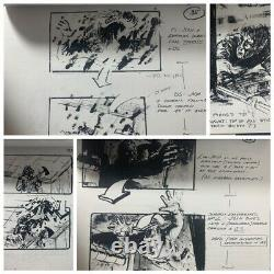 THE SUBSTITUTE (93) Shooting Script, Storyboards, More, Mark Wahlberg's 1st film