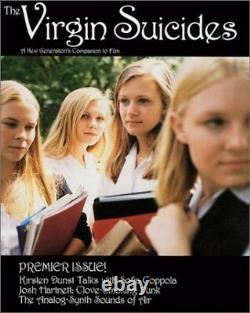 THE VIRGIN SUICIDES JAPAN PHOTO & MOVIE GUIDE BOOK Sofia Coppola Book From Japan