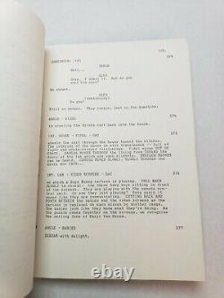 THE WITCHES OF EASTWICK / Michael Cristofer 1985 Screenplay, CHER horror film