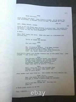 The Adventures Of Ford Fairlane Movie Script Original Andrew Dice Clay Rare