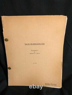 The Day The Earth Stood Still 1951 Final Movie Script Book Screenplay Sci Fi
