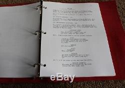 The Farewell Movie Hand Signed Autograph Screenplay Script Fyc For Your