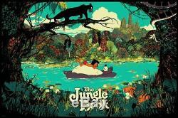 The Jungle Book Disney Alternative Movie Poster Art by Raid71 #/125 NT Mondo
